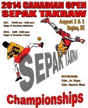2014 Cdn Open Poster Graphic